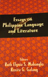 Essays on Philippine Language and Literature