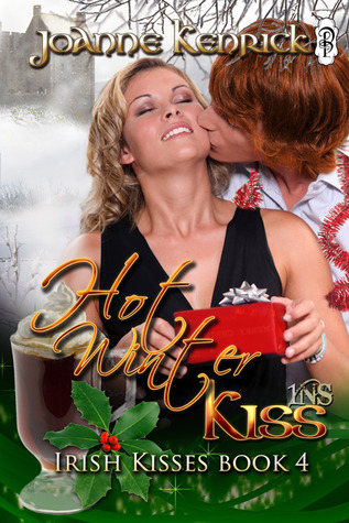 Irish Kisses book four - Hot Winter Kiss by JoAnne Kenrick with Decadent Publishing, an Irish Holiday Romance set in remote Ballygalley castle Ireland. Bell's Irish Pub