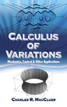 Calculus of Variations: Mechanics, Control and Other Applications