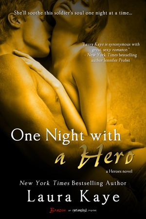 Post Thumbnail of Review: One Night With a Hero by Laura Kaye