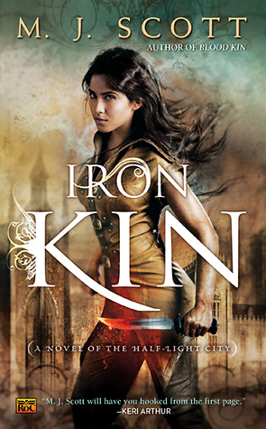 Review: Iron Kin by M.J. Scott (Half-Light City #3)