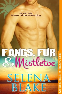 Fangs, Fur and Mistletoe (Mystic Isle #1)