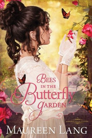 Bees in the Butterfly Garden by Maureen Lang