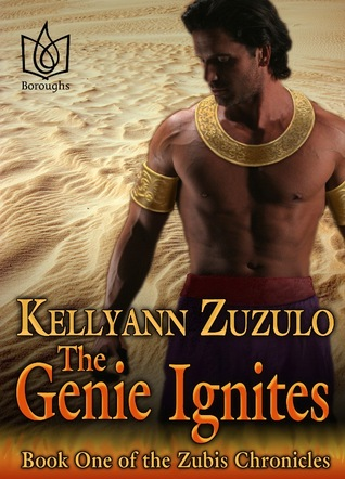 Review: The Genie Ignites by Kellyann Zuzulo (Zubis Chronicles #1)