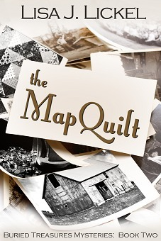 The Map Quilt by Lisa J. Lickel
