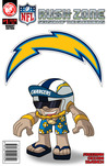 NFL Rush Zone: Season Of The Guardians #1 - San Diego Chargers Cover