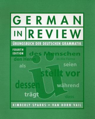 German in Review Classroom Manual by Kimberly Sparks