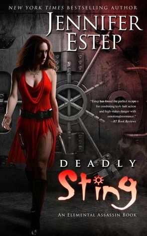 Release-Day Review: Deadly Sting by Jennifer Estep (Elemental Assassin #8)