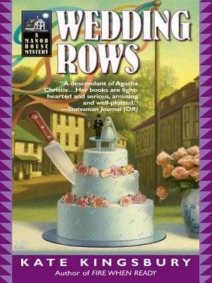 Wedding Rows (Manor House Mysteries #8)