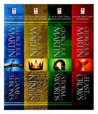 A Song of Ice and Fire 4-copy bundle (A Song of Ice and Fire, #1-4)