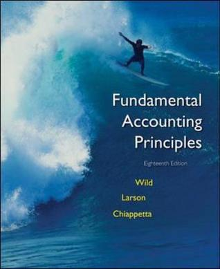 Fundamental Accounting Principles Eighteenth ED
