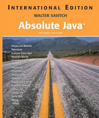 Download Absolute Java iBook by Walter J. Savitch