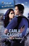 Safety In Numbers (Wild West Bodyguards #2) (Silhouette Romantic Suspense #1463)