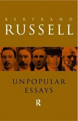 sceptical essays by bertrand russell Introduction on the value of scepticism 1: eastern and western ideals of happiness 80: sceptical essays bertrand russell snippet view - 1928.