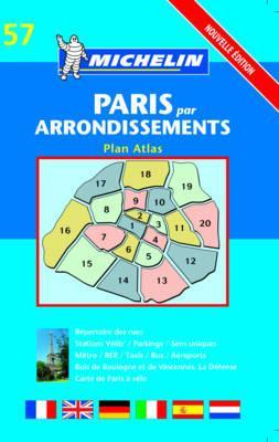 Michelin Paris Par Arrondissements Plan Atlas by Michelin