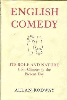English Comedy by Allan Edwin Rodway