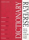 Reverse Dictionary by Reader's Digest Association