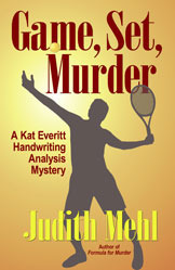Game, Set, Murder (Handwriting Analysis Mysteries, #2)