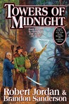 Towers of Midnight (Wheel of Time, #13; A Memory of Light, #2) cover
