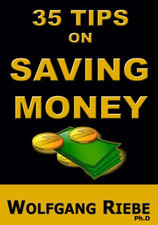 35 Tips on Saving Money by Wolfgang Riebe