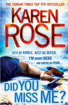 Did You Miss Me? (Romantic Suspense, #14)