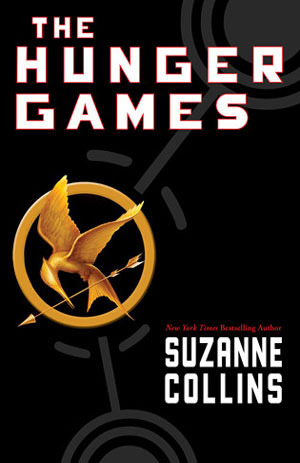 The Hunger Games trilogy by Susan Collins book cover