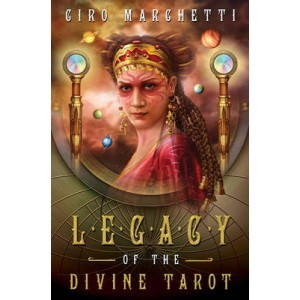 Legacy of the Divine Tarot [With Paperback Book and Black Org... by Ciro Marchetti