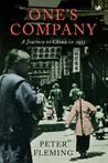 One's Company: A Journey to China in 1933