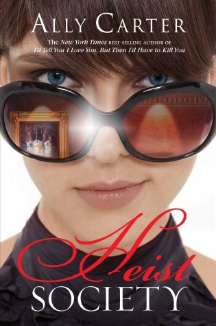 Book Cover Heist Society by Ally Carter