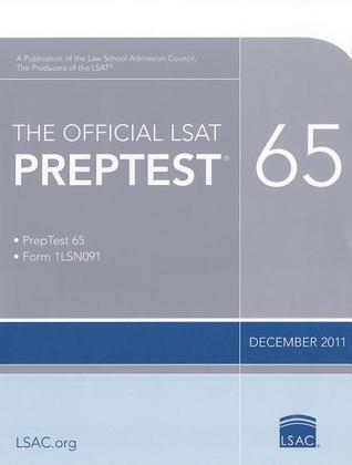 The Official LSAT PrepTest 65: (Dec 2011 LSAT)