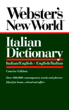Webster's New World Italian Dictionary, Concise Edition