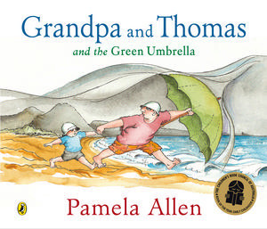 Grandpa And Thomas And The Green Umbrella