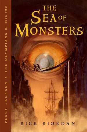 Book Cover The Sea of Monsters by Rick Riordan