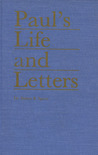 Paul's Life and Letters
