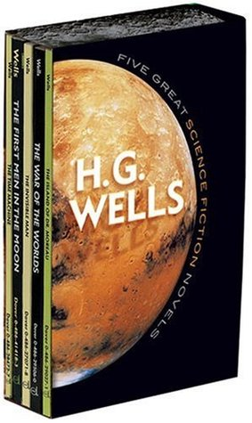 Five Great Science Fiction Novels by H.G. Wells
