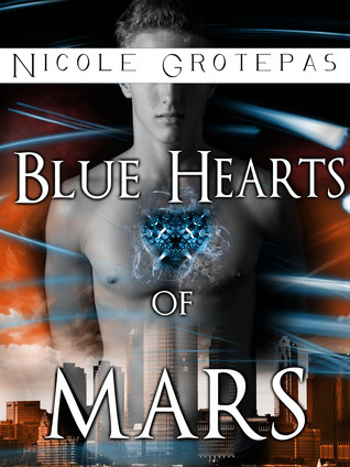 Blue Hearts of Mars by Nicole Grotepas