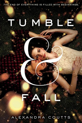 Cover art from Alexandra Coutts' Tumble & Fall
