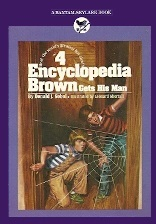 Encyclopedia Brown Gets His Man (Encyclopedia Brown, #4)