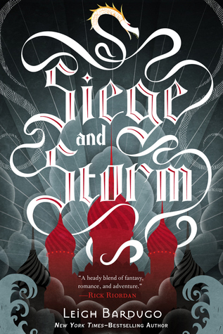 Siege and Storm by Leigh Bardugo (ARC) Image