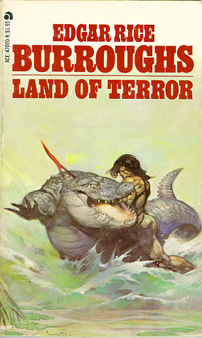 Land of Terror (Pellucidar, #6)