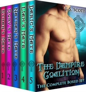 The Complete Boxed Set, Books 1-5 - J. S. Scott