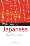 Welcome to Japanese: A Beginner's Survey of the Language