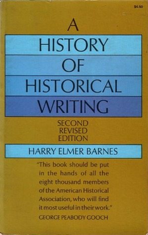 A History of Historical Writing