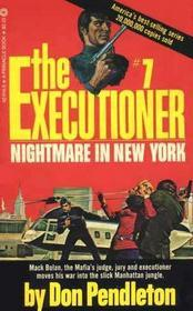 Nightmare in New York (The Executioner #7)