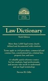 Barron's Law Dictionary
