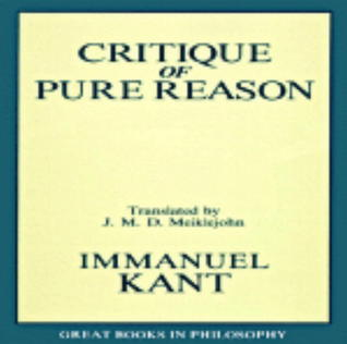 The Critique of Pure Reason