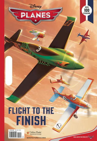 Flight to the Finish: Giant Coloring Book (Disney Planes)