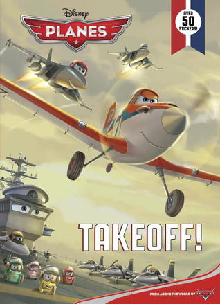 Takeoff!: Super Coloring Book with Stickers (Disney Planes)