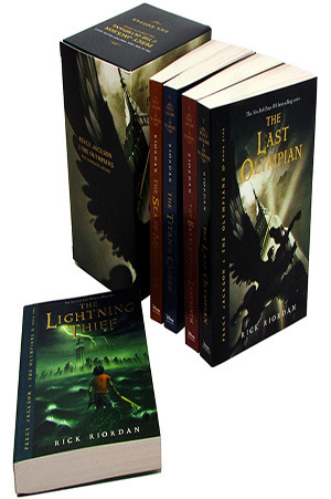 Percy Jackson &amp; The Olympians Boxed Set The Complete Series 1-5(Percy Jackson And The Olympians)