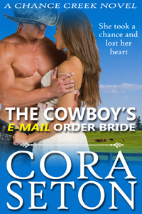 The Cowboy's E-Mail Order Bride (Cowboys of Chance Creek, #1)